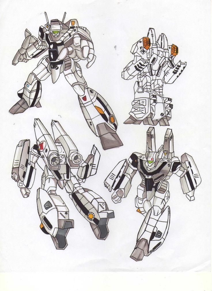 Variaciones de movimientos de VF-1