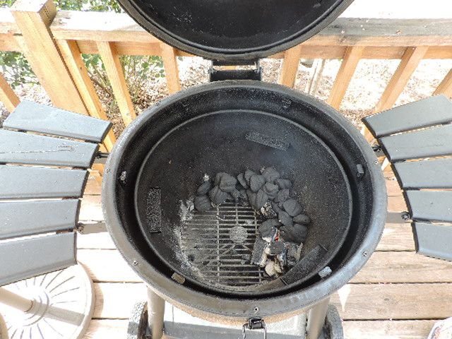 how to cook with charcoal
