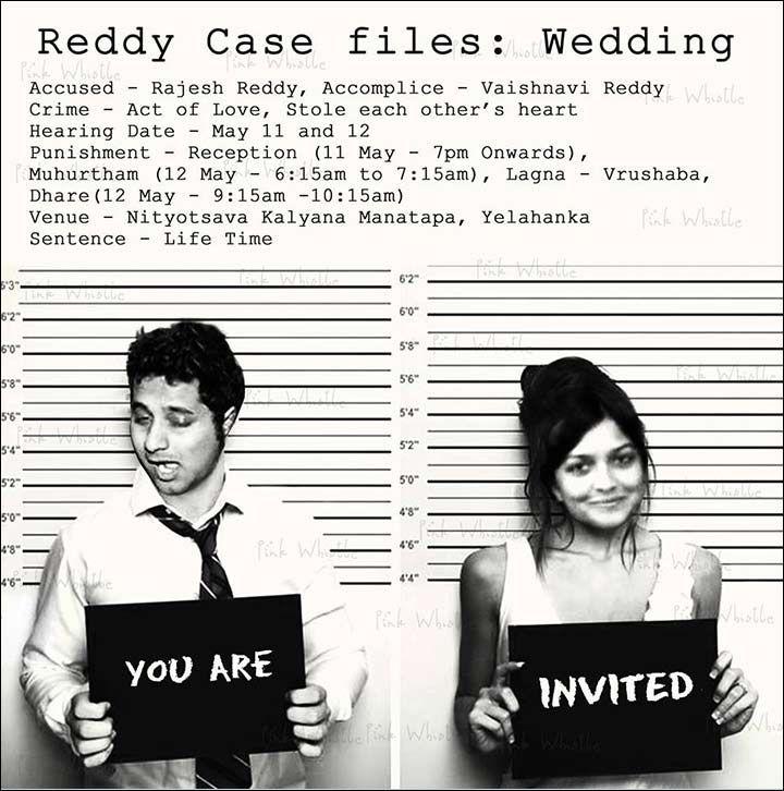 A funny wedding invitation based on a movie 😊