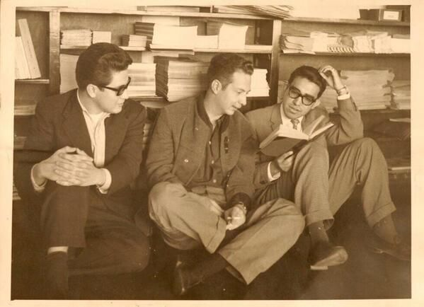 José Emilio Pacheco, Sergio Pitol y Carlos Monsiváis