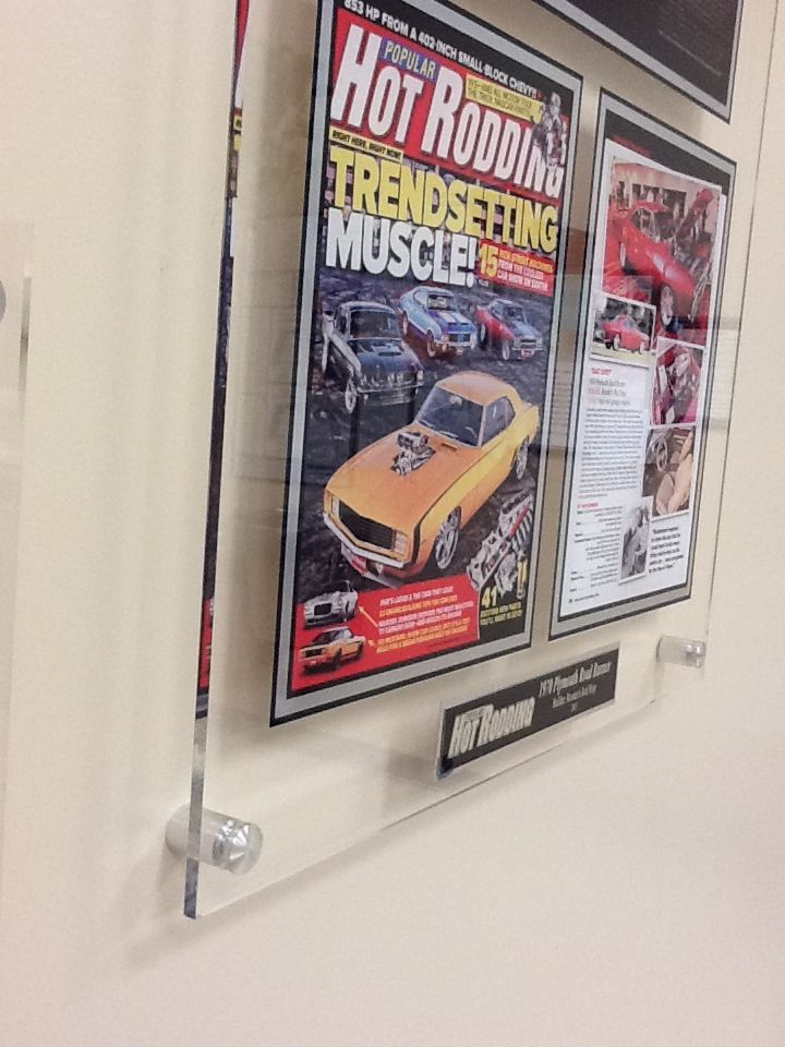 acrylic plaques for newspaper and magazine articles display your latest feature with new technology for a new look
