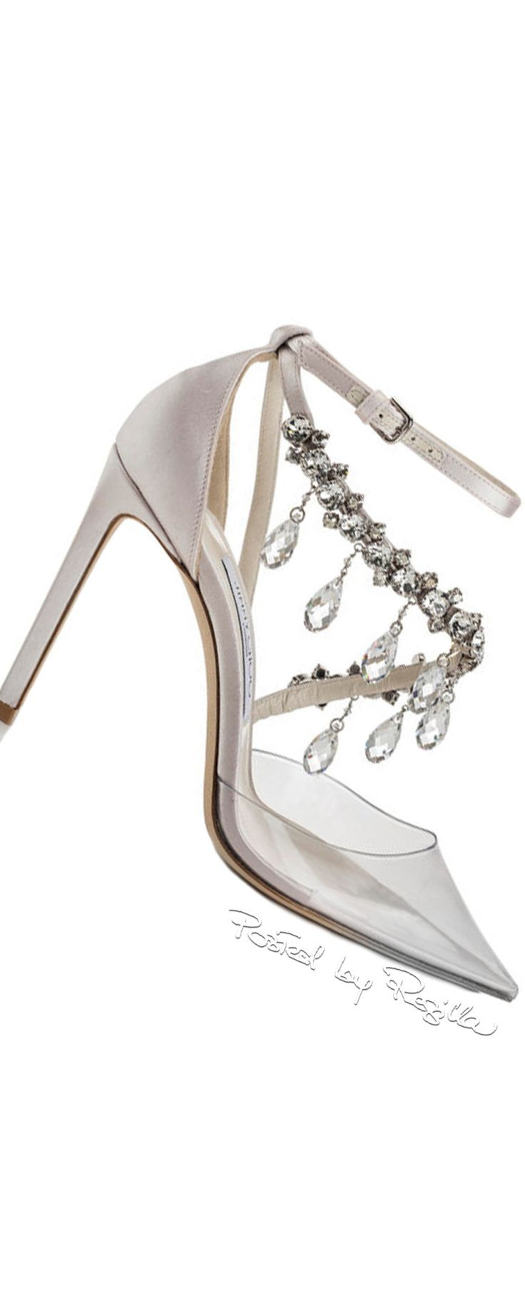 regilla jimmy choo pumps with plexispitze and swarovksi crystals shoes 2 pinterest. Black Bedroom Furniture Sets. Home Design Ideas