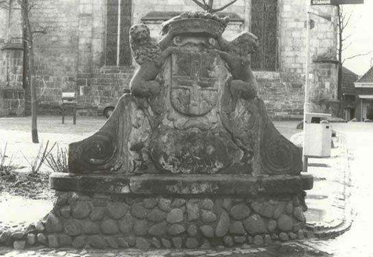 Gemeentewapen van Bentheimer zandsteen