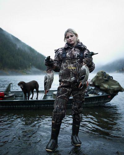 Duck Huntress, Montana | HuntDrop