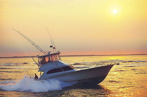 Wilmington, NC, has an abundance of fishing options, including charter boat fishing! www.SeaCoastRealty.com #wilmingtonnc #boating #boat