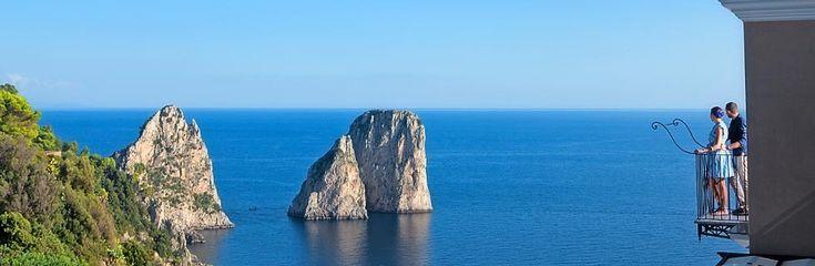 Hotel Luna in Capri Italy.  : My Dad, Kid