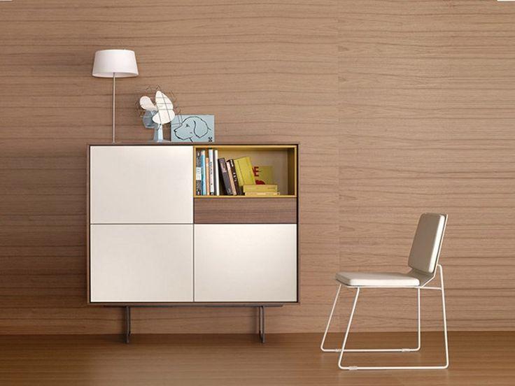 Lacquered storage unit AURA Aura Collection by TREKU | design Angel Martí, Enrique Delamo