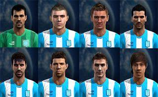 Actualizacion Pes 2013: Facepack Racing Club - Liga Argentina Pes 2013