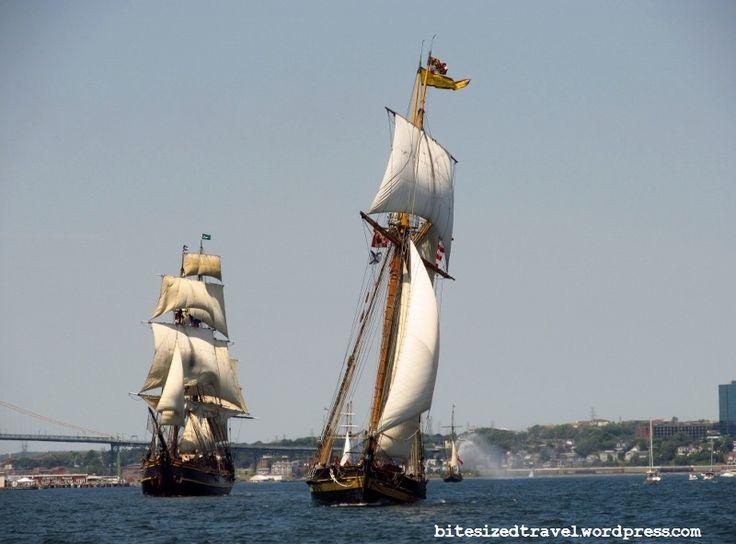 Tall Ships 2012 Parade of Sail Pride of Baltimore Bounty