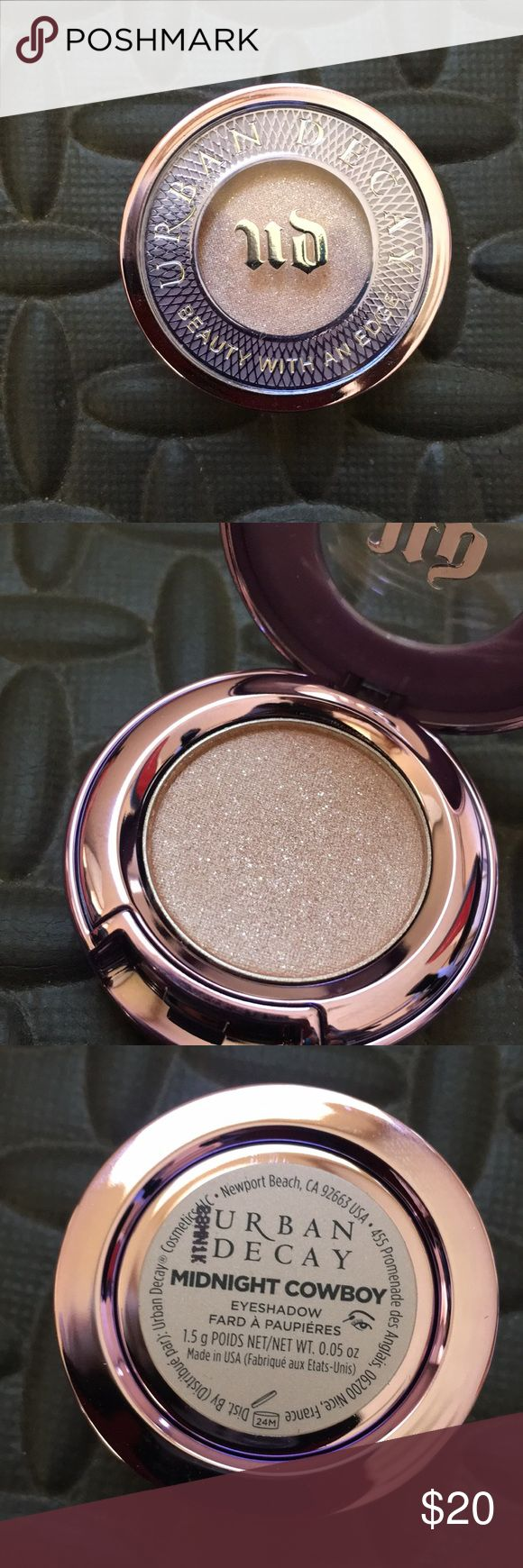 Midnight Cowboy Brand new. Make an offer or bundle and offer! Urban decay.  Midnight cowboy. Urban Decay Makeup Eyeshadow