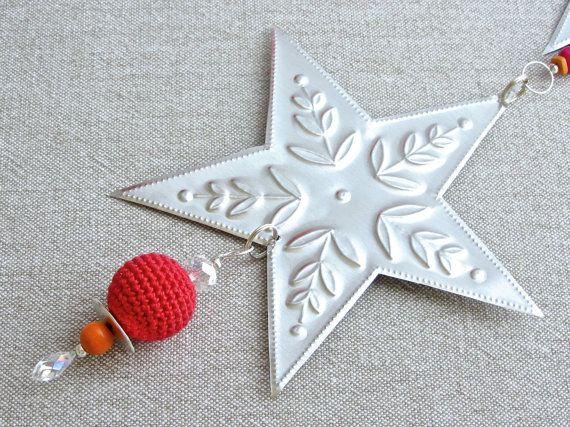 Métal étoile décoration sticker argenté décor par FoilingStar