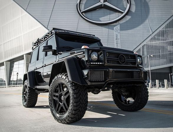 Mercedes Benz G550 Brabus 4x4 Squared Coches Deportivos De Lujo Coches Todoterreno Coches De Lujo