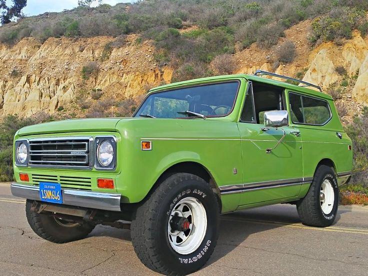 1978 International Scout II 4x4 V8 1 Owner All Original Rust Free California Car   eBay