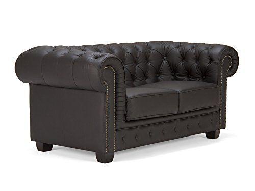 Massivum-10003672-Sofa-Leder-schwarz-95-x-172-x-79-cm