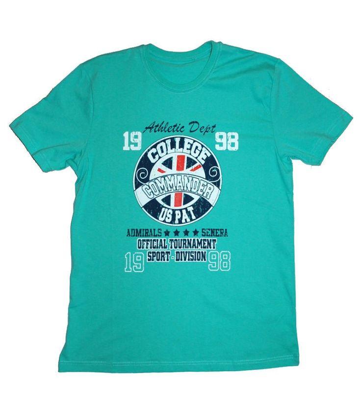 Зеленая футболка с графикой