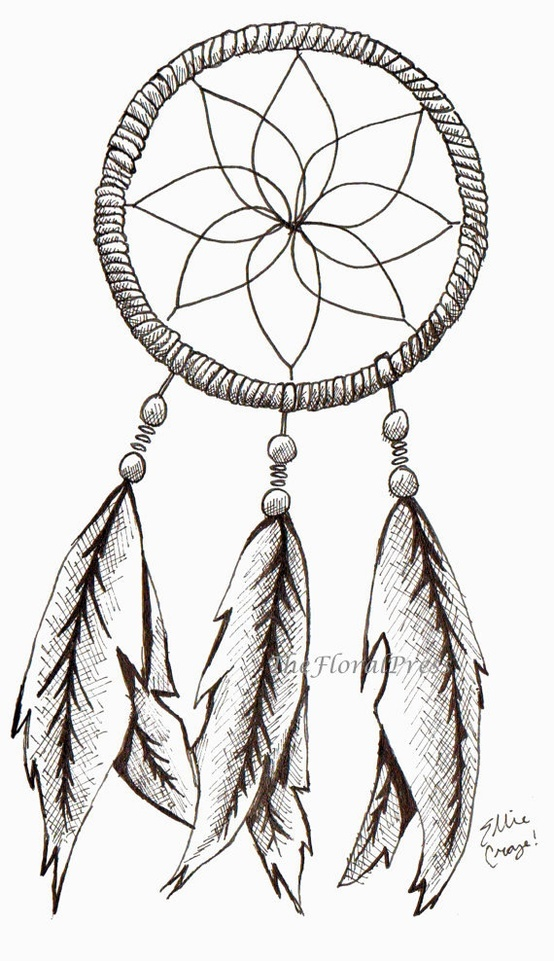 Dream Catcher Outline 41 Best Dreamcatchers Images On Pinterest  Dream Catchers