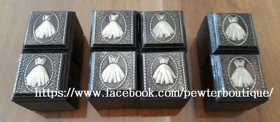 Commissioned Boxes for Bridesmaids.