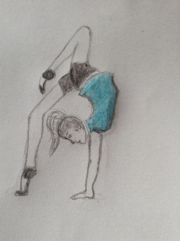 Dessin gym dessin dessin et gym - Dessin gymnaste ...