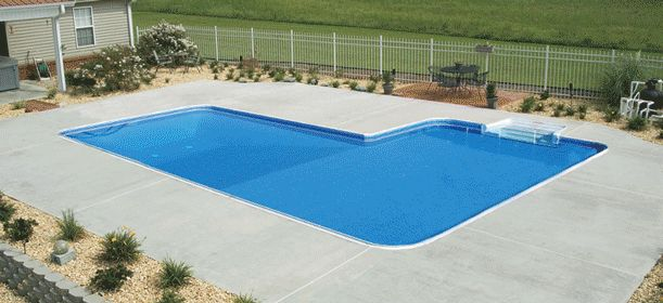 L Shaped Swimming Pool Kits - Pool Warehouse