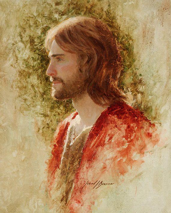 Jesucristo lámina El príncipe de la paz por por JaredBarnesArt