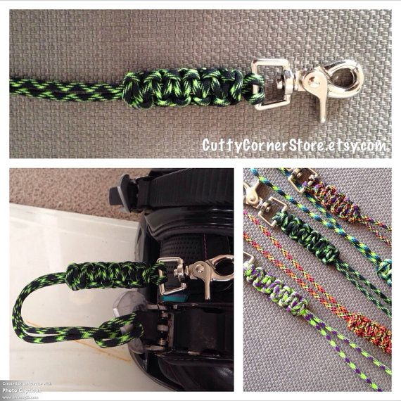 Handmade Paracord Snowboard Leash by CuttyCornerStore on Etsy