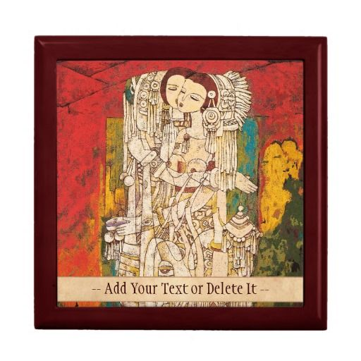 Sisters Chen Yongle oriental abstract ladies art Jewelry Boxes