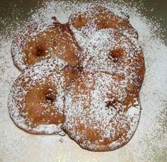 Appleflappen - Traditional Dutch New Years Eve type apple fritters.