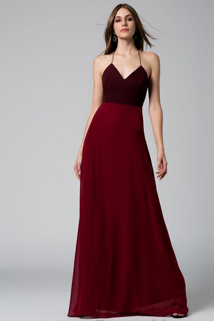 Kırmızı Bordo Elbise MLWSS16EH2484 TRENDYOLMİLLA | Trendyol
