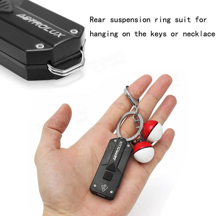 Astrolux K1 Stainless Steel XP-G3+365nm UV+Red LED 250LM USB Rechargeable Mini LED Keychain