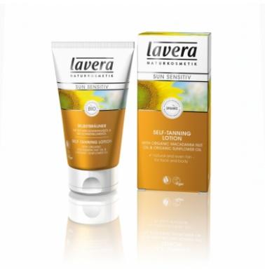 Lavera Φυτική/Οργανική Kρέμα Self-Tanning για Πρόσωπο και Σώμα