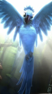 In Rio de Janeiro, baby macaw, Blu, is captured by dealers and smuggled to the USA. While driving through Moose Lake, Minnesota, the truck that is transporting Blu accidentally drops Blu's box on the road. A girl, Linda, finds the bird and raises him with love...The adventure continues as they go to Rio looking for the blue species.. http://putlocker.bz/watch-rio-online-free-putlocker.html