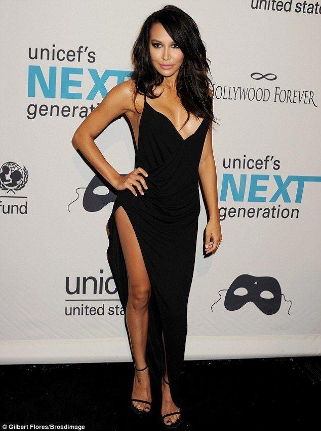 Naya Rivera Looks Like Kim Kardashian   POPSUGAR Celebrity