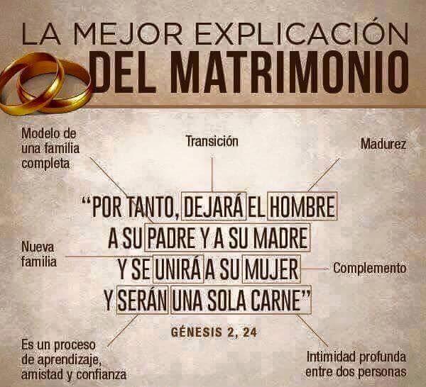 Matrimonio Catolico Citas Biblicas : El diseño divino del matrimonio génesis pan