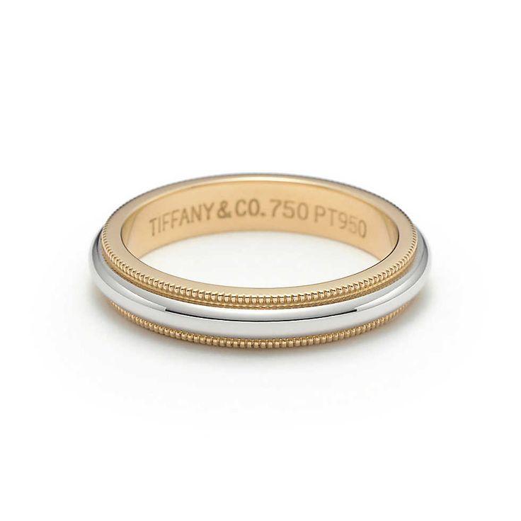 Tiffany & Co. -  Milgrain: Aliança de casamento
