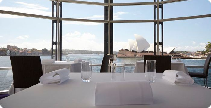 Quay, Sydney, Australia There's more to this Sydney Harbour restaurant than the stunning panoramic views of the Opera House and Harbour Bridge it affords. At Quay, chef Peter Gilmore works to bring the best ingredients from New South Wales to the fore in a style that blends the cutting edge with the more natural.