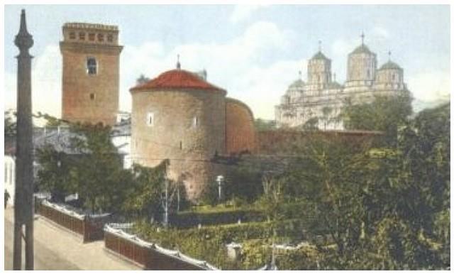 Iasi - Manastirea Golia - interbelica