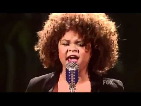 Rachel Crow I'd Rather Go Blind - The X Factor USA Live Show 3 - YouTube