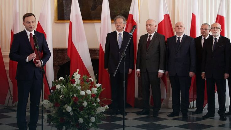 Andrzej Duda otrzymał nominację prezydencką od PKW #wybory2015 #Polska