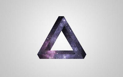 Penrose triangle wallpaper