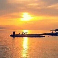 Sunset loutraki Greece! !!!!!!