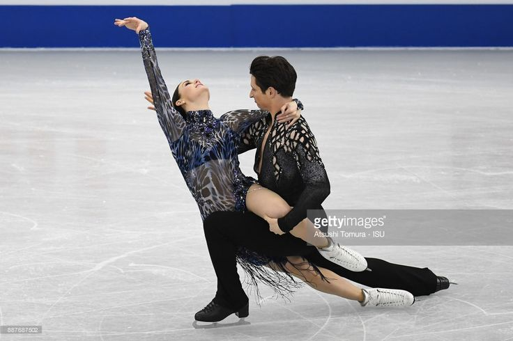 Tessa Virtue and Scott Moir of Canada compete in the Ice dance short dance during the ISU Junior & Senior Grand Prix of Figure Skating Final at Nippon Gaishi Hall on December 7, 2017 in Nagoya, Japan.