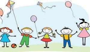 Painéis e Murais para o Dia das Crianças com moldes para imprimir.