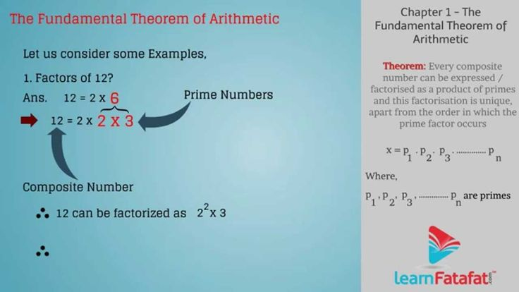Awsome video. From - www.learnFatafat.com  CBSE Class 10 Maths - The Fundamental Theorem of Arithmetic. Topics covered in this 10th CBSE Maths video are as follows :-  1) Theorem 2) Simplification of theorem with example  This video will guide you to get clear solution on your questions.