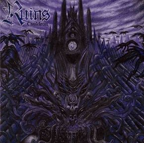 """Tasmania's Ruins have become widely known and respected as Australia's premiere Black Metal band. """"Cauldron"""" is the third installment of this two man black metal assault!"""