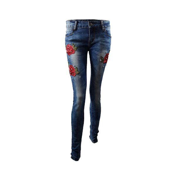 EMBROIDERED JEANS £49.99