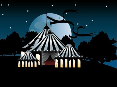 Carnival and Circus Themes in Graphic Designs / Design Tickle