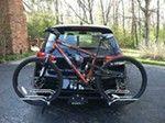 "Swagman XTC-2 2-Bike Platform Rack for 1-1/4"" and 2"" Trailer Hitches Swagman Hitch Bike Racks S64670"