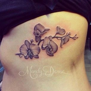 Orchid tattoo