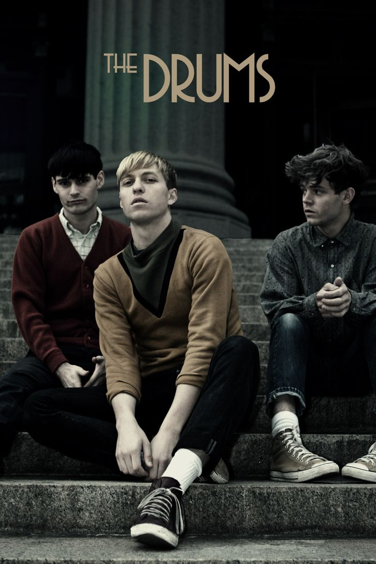The Drums - American indie pop band. Genre: Indie rock, indie pop, post-punk revival, new wave