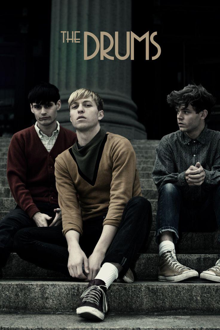 The Drums - American indie pop band. Genre: Indie rock, indie pop, post-punk revival, new wave